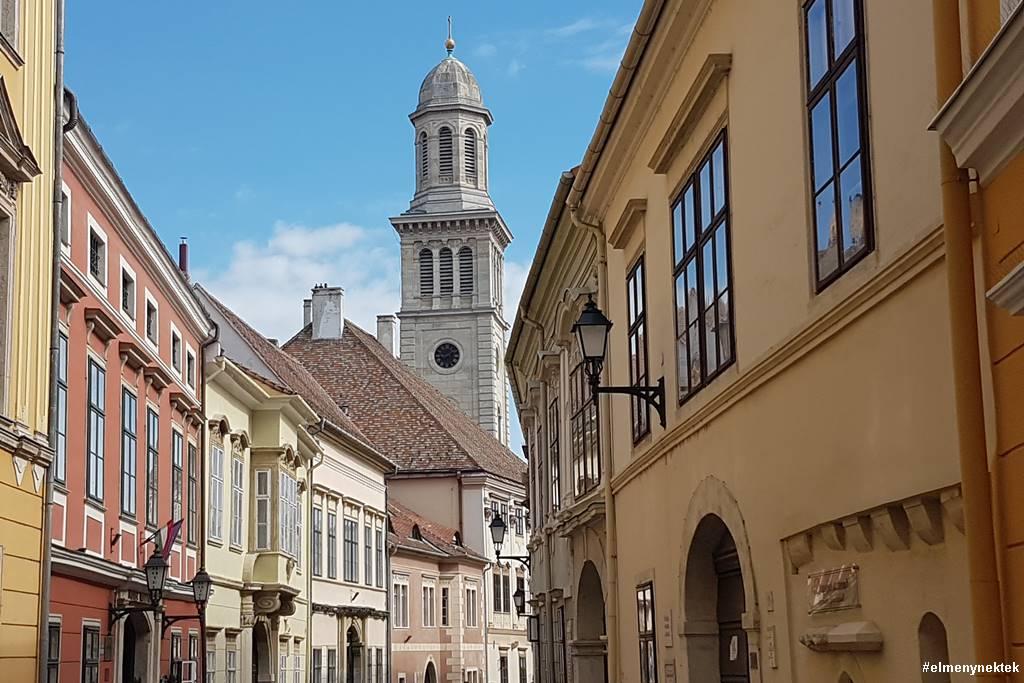 evangélikus templom-sopron